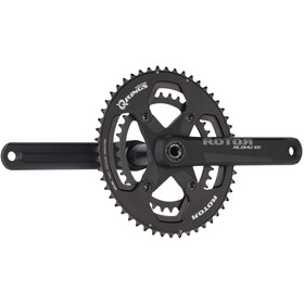 Rotor Aldhu Road Spider 110x4, 2-speed, black matte